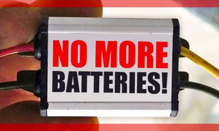 No more RV batteries for keyless electric RV locks
