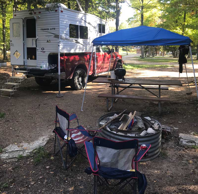 Camping Fayette Historic State Park