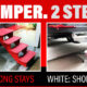 Two step solutions for a truck camper