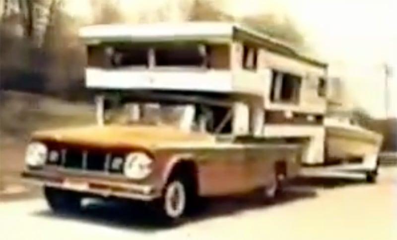 1967 Dodge Camper Special Truck Overloaded