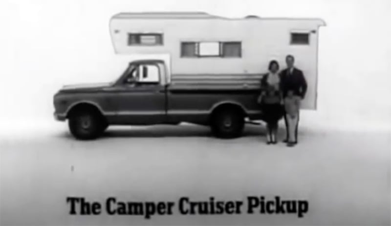 1967 GMC Camper Cruiser Pickup Commercial