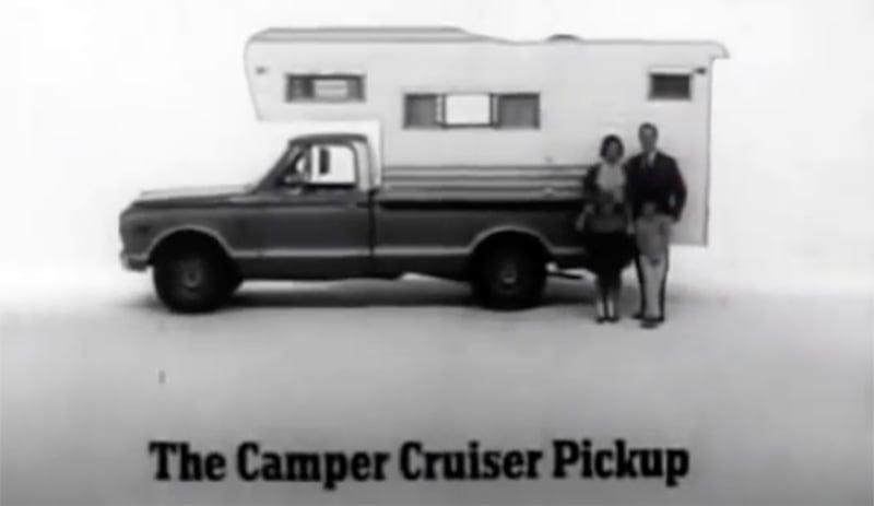 1967 GMC Camper Cruiser Pickup Commercial