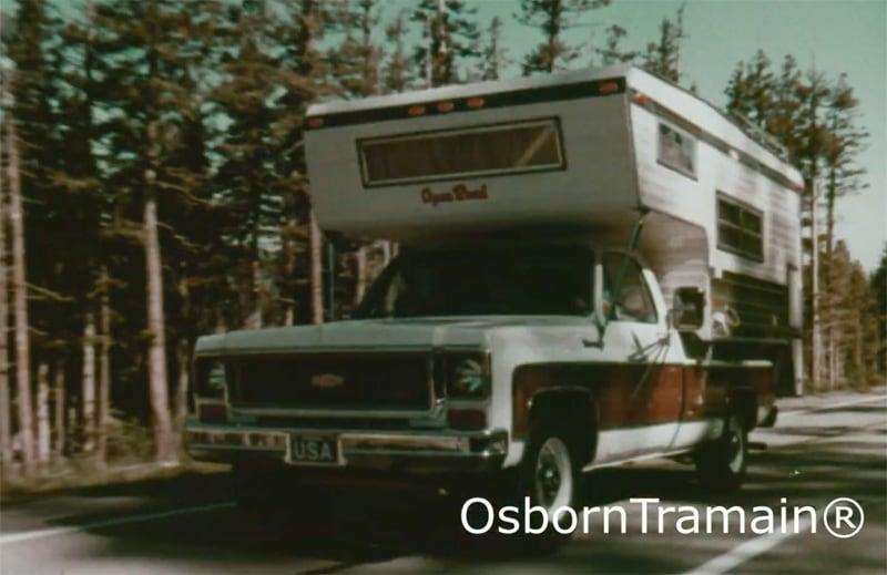 1973 Chevy C10 Camper Pickup Truck Open Road Camper
