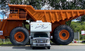 200 Ton Truck and Camper