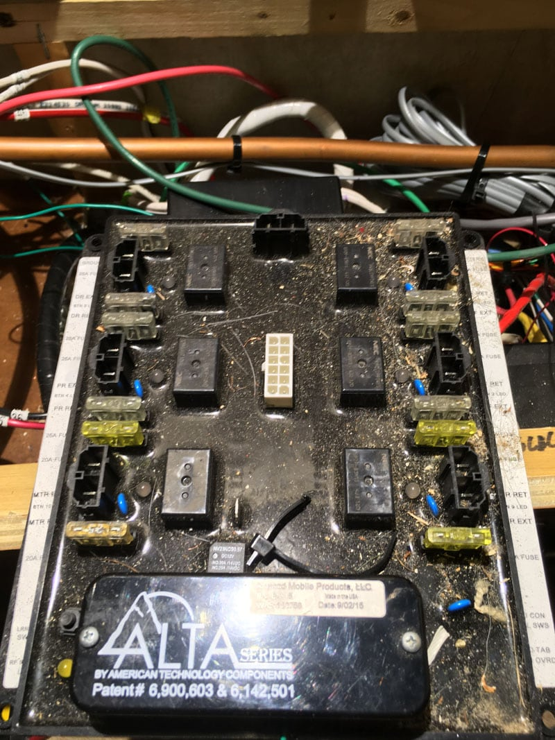 All Wires Removed From The Atwood Control