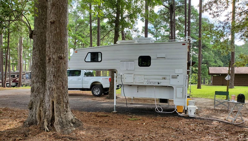 At Campground After Tropical Storm Laura