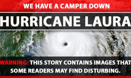 Camper lost to Hurricane Laura
