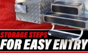 Camper Storage Steps