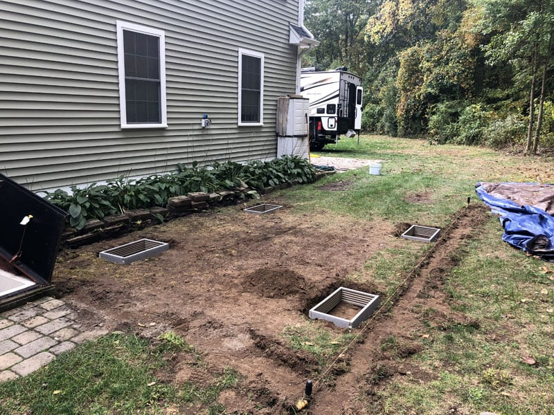 Leveling Ground For RV Pad