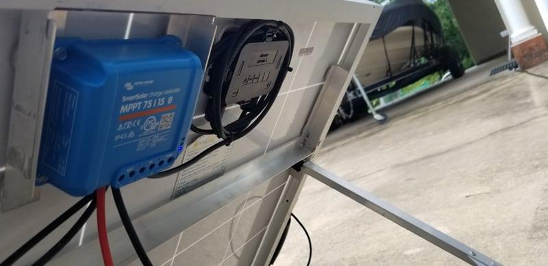 MPPT Controller Solar Suitcase