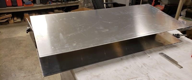 New Bumper Aluminum