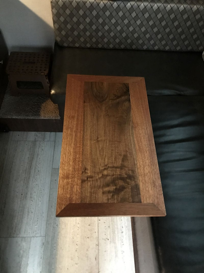 New Matching Mahogony Table