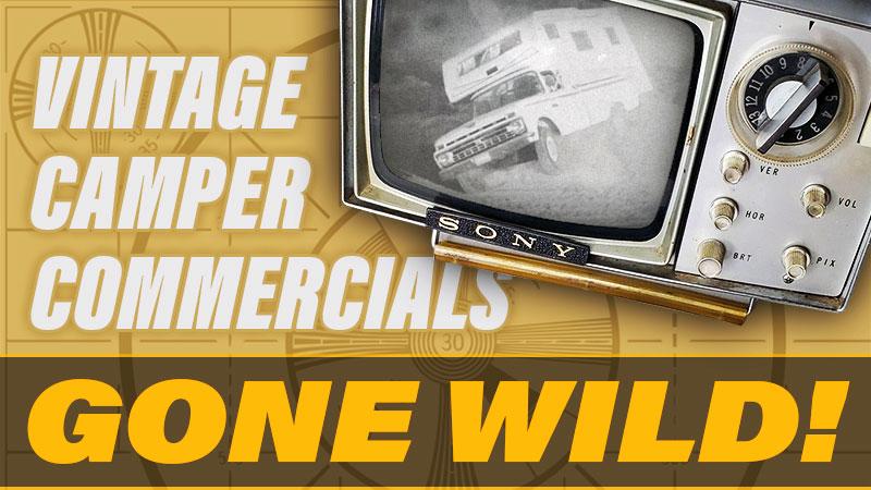 Truck Camper Television Commercials