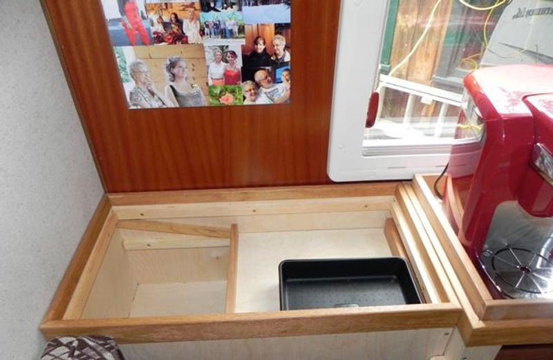 Window Hidden Storage Nook