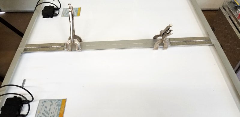 Clamps Stainless Steel Piano Hinges
