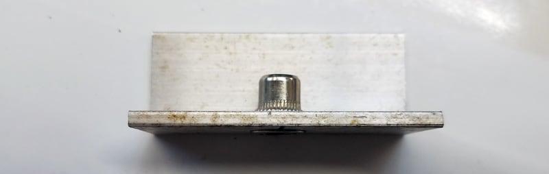Closeup Rivet Nut