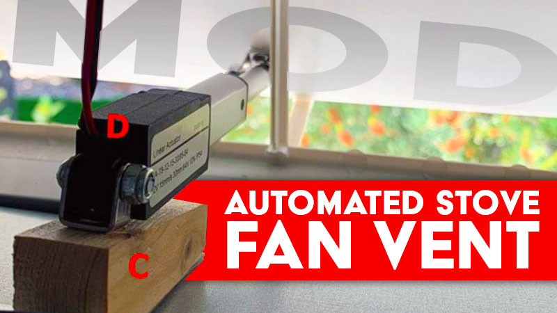 Automated RV Stove Vent