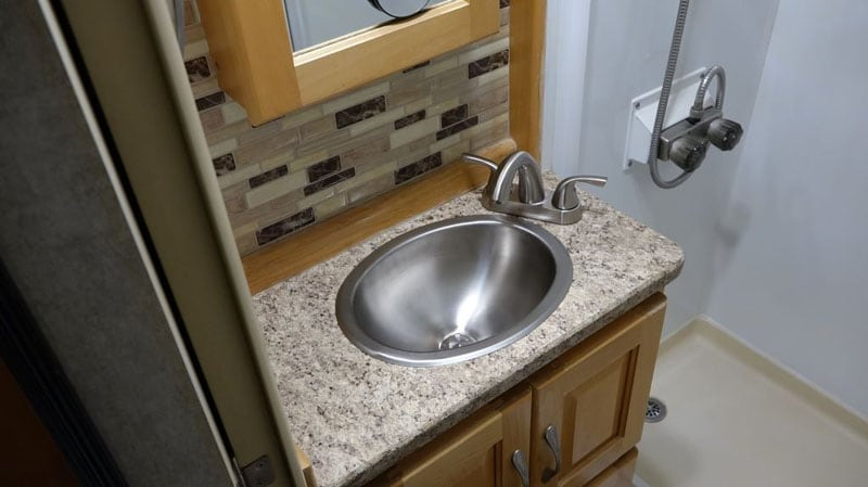 Bathroom RV Sink Bowls Before After