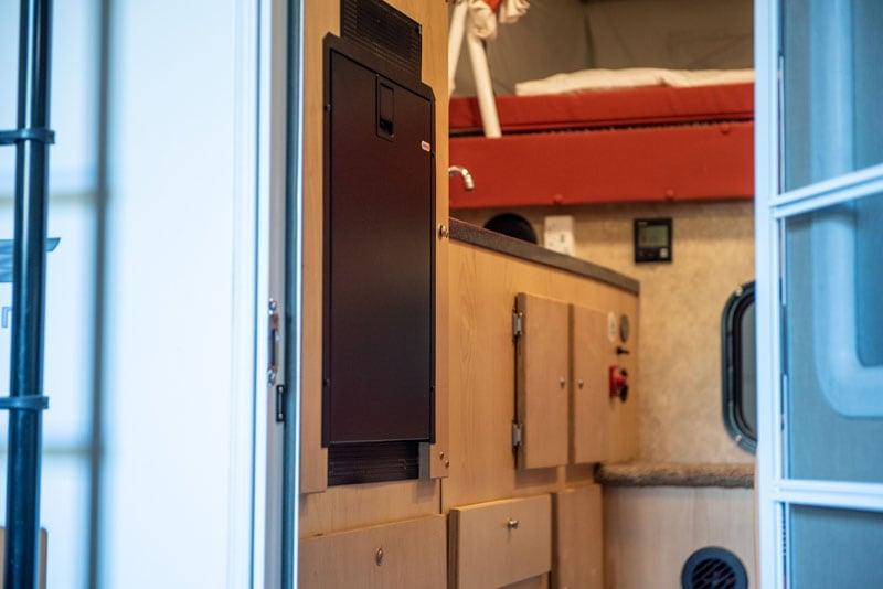 Drawer Style 12 Volt Truck Refrigerator Popup Camper
