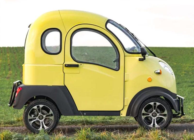 Electric Frog Camper Car
