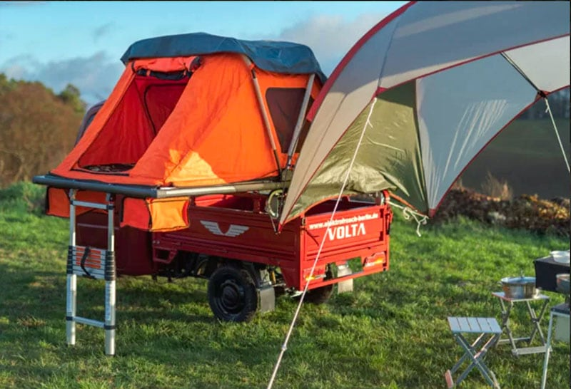 Electric Frog Camper Ladder And Tent