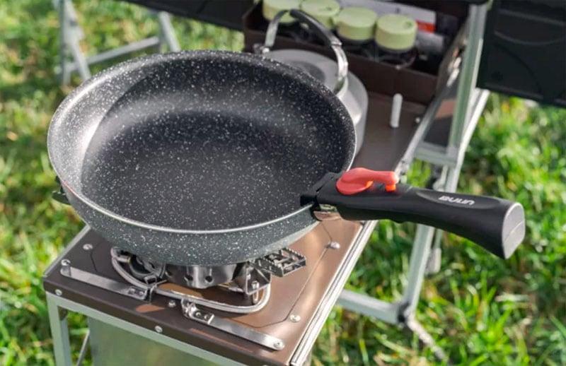Electric Frog Camper Pan