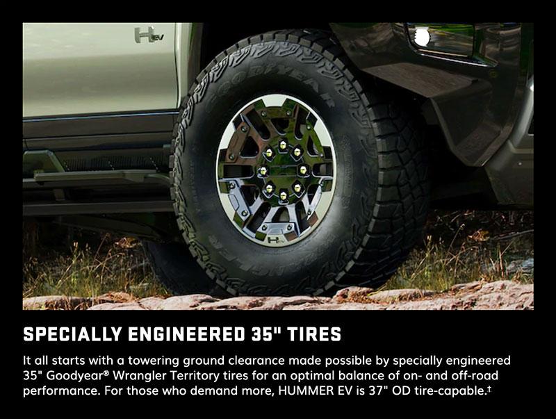 Hummer EV 35-Inch Tires