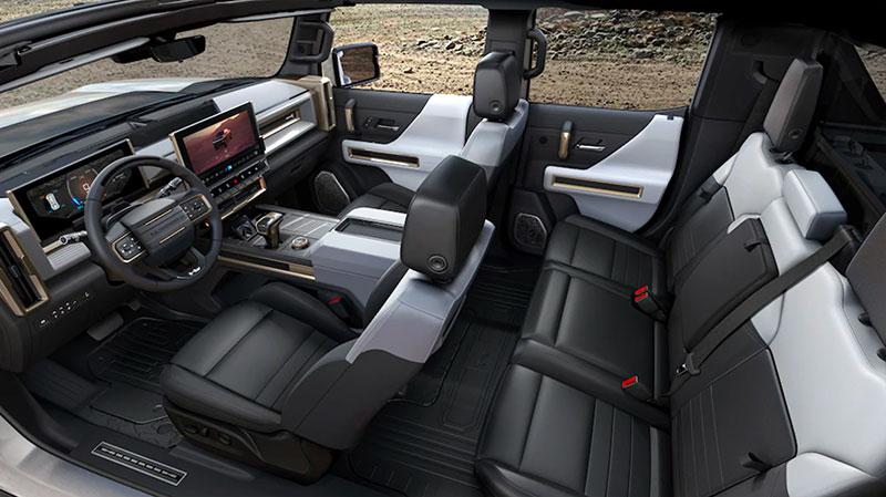 Hummer EV Interior Wide