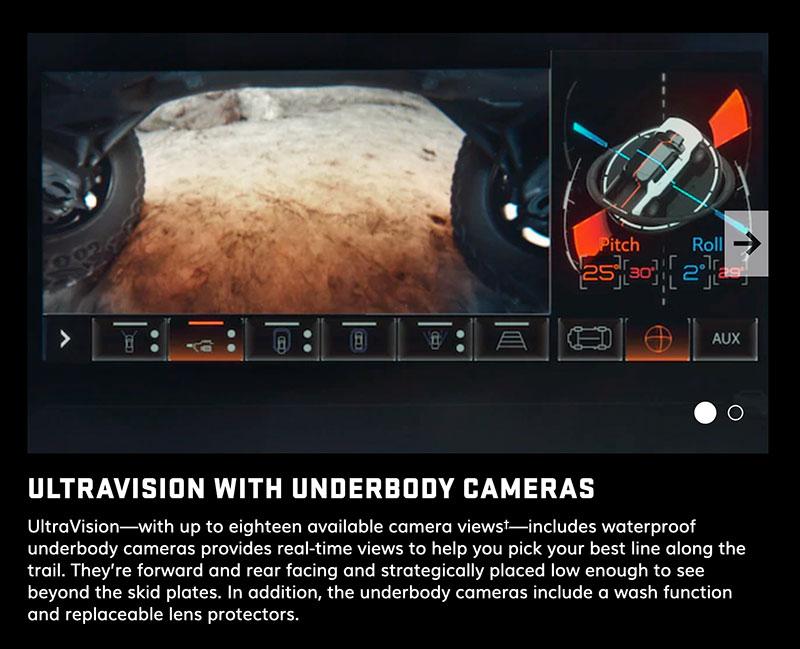 Hummer EV Ultravision Underbody Cameras