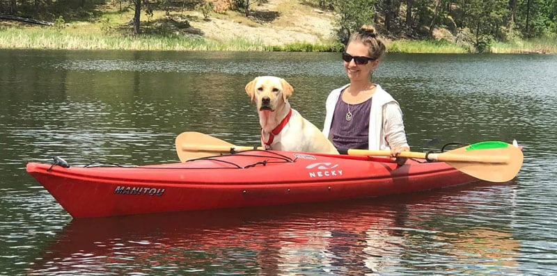 Kami And Tulsa Kayaking