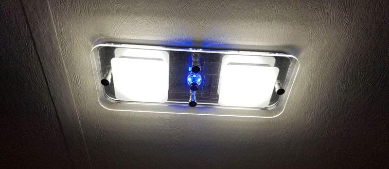 LED Light Above Dinette Of Cirrus 820