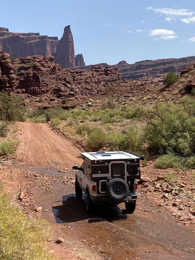 La Salle Mountains 55 Mile Drive on Jeep Roads