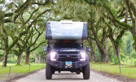 Truck Camper Georgia Trees