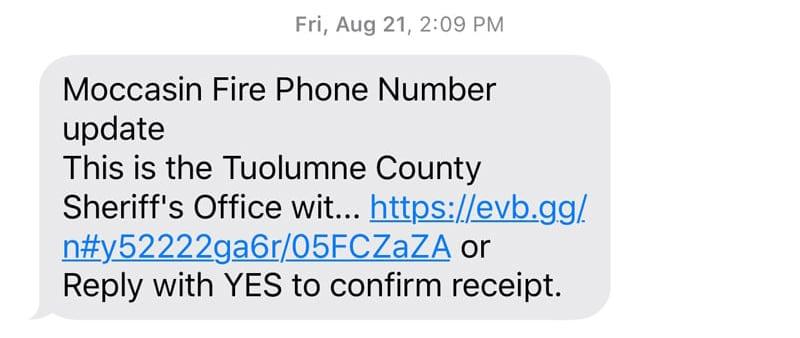 Update California Fires