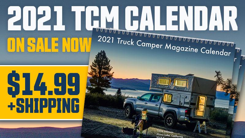 2021 Truck Camper Calendar