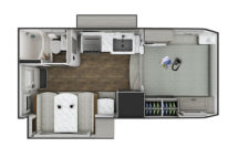 2021 Lance 1062 Floor Plan