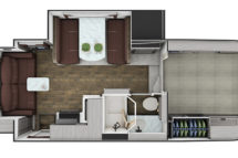 2021 Lance 1172 Floor Plan