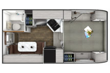 2021 Lance 850 Floor Plan