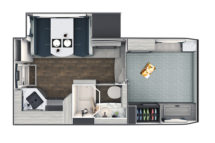2021 Lance 975 Floor Plan
