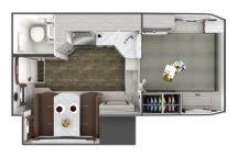 2021 Lance 995 Floor Plan