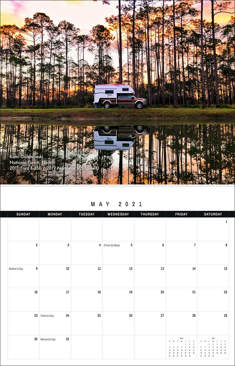 2021 TCM Calendar 5 May