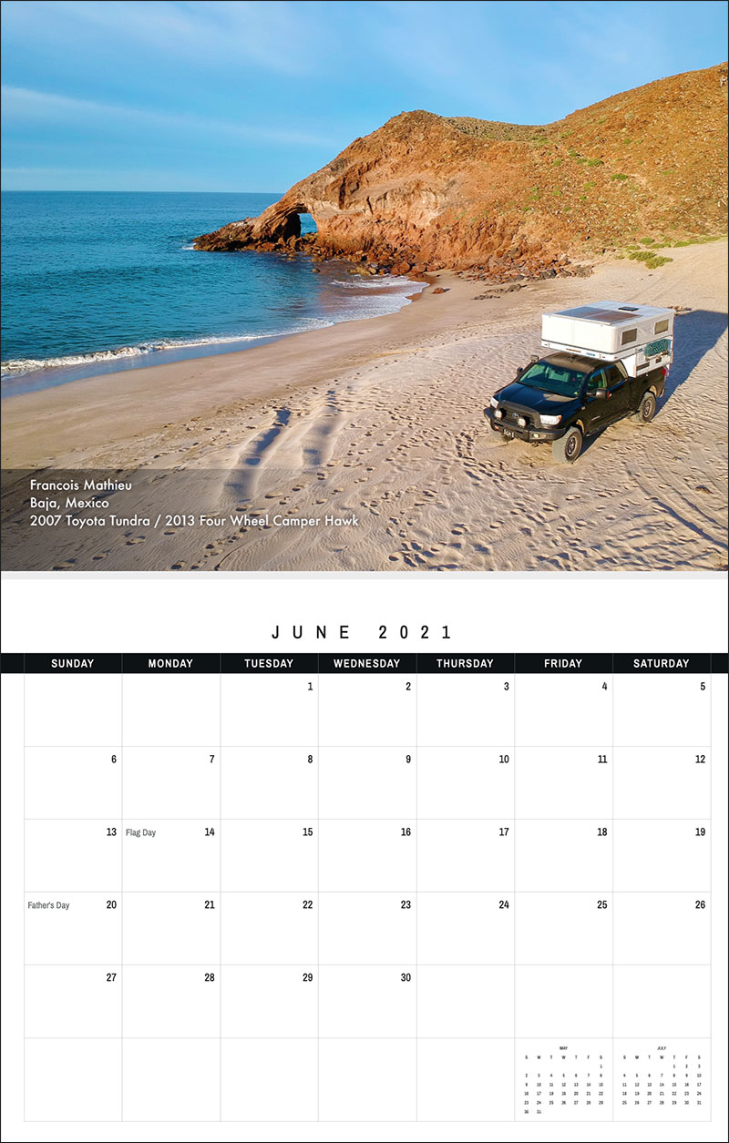 2021 TCM Calendar 6 June