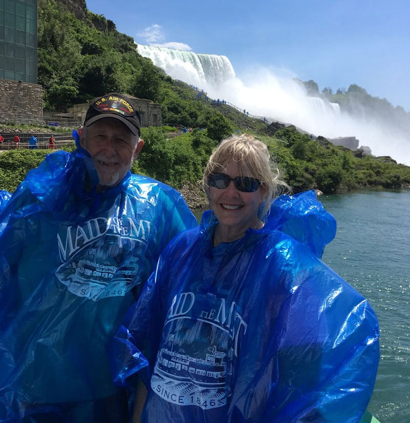 After Maid of the Mist Boat Ride