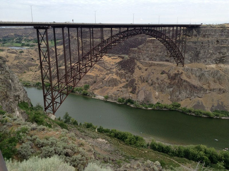 BASE Parachute Jumping Twin Falls Idaho