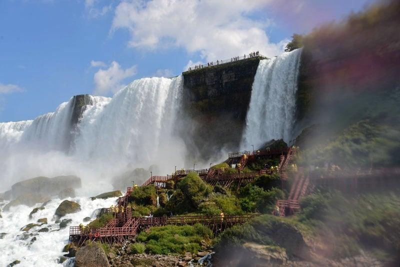 Below The Niagara Falls
