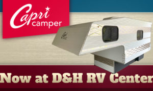 Capri Camper at D&H RV Center North Carolina