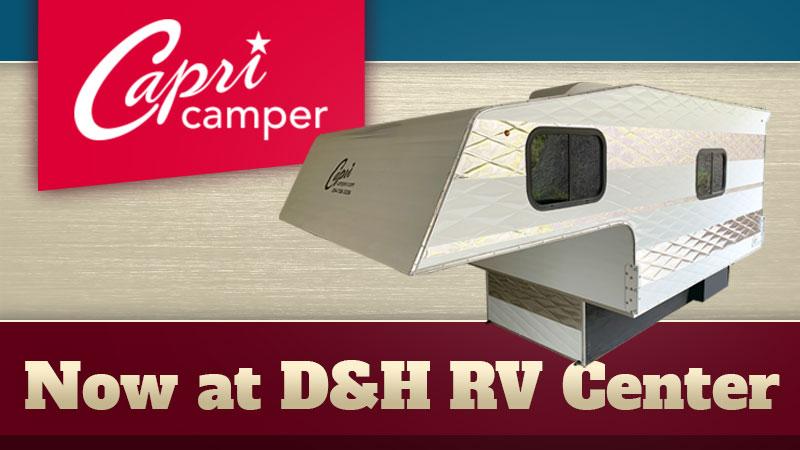 Capri Camper at D&H RV Center North Carolina