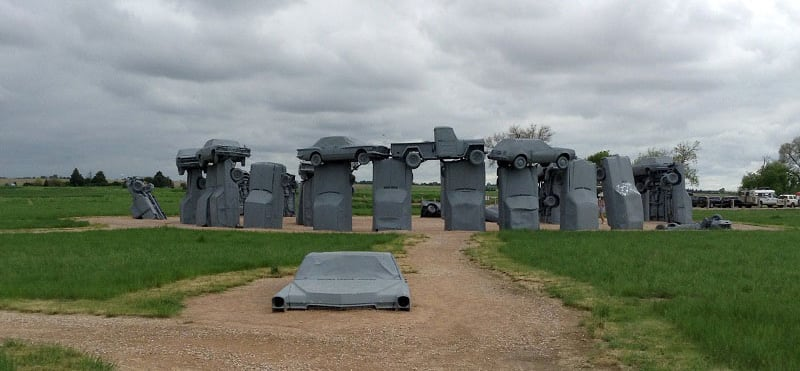 Carhenge Near Alliance Nebraska