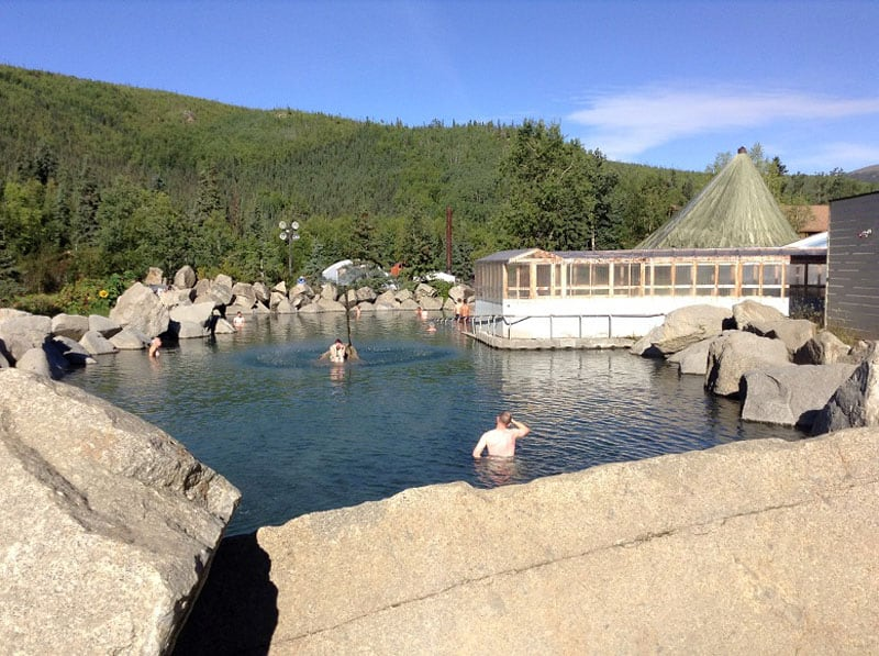 Chena Hot Springs Near Fairbanks Alaska