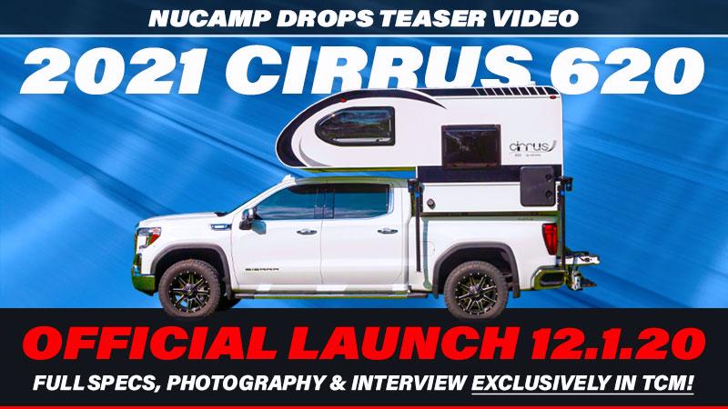 Cirrus 620 truck camper